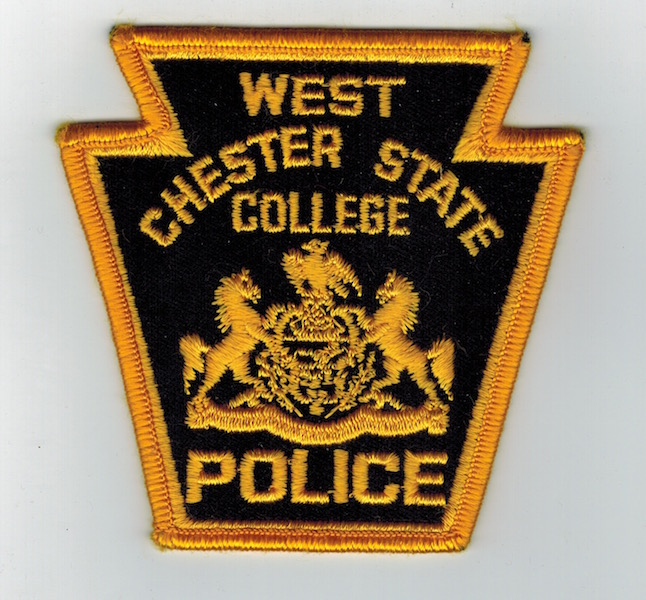 WEST CHESTER STATE COLLEGE POLICE KEY STONE
