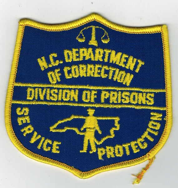 NORTH CAROLINA DEPT. OF CORRECTIONS