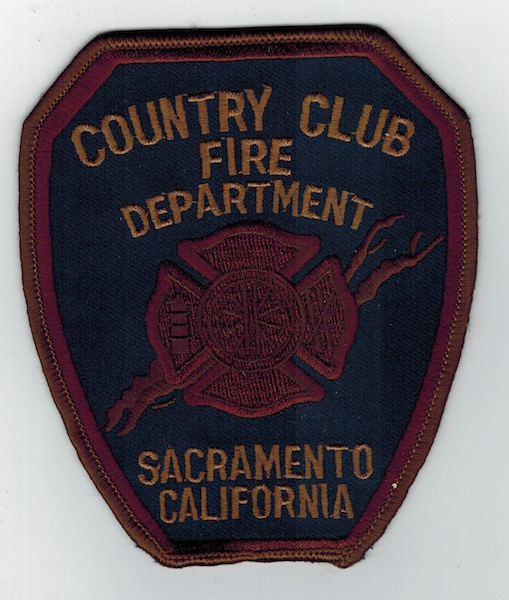 COUNTRY CLUB FIRE DEPT. SACRAMENTO CALIFORNIA