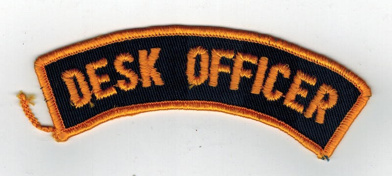 DESK OFFICER TAB