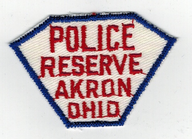 AKRON POLICE RESERVE OHIO SMALL