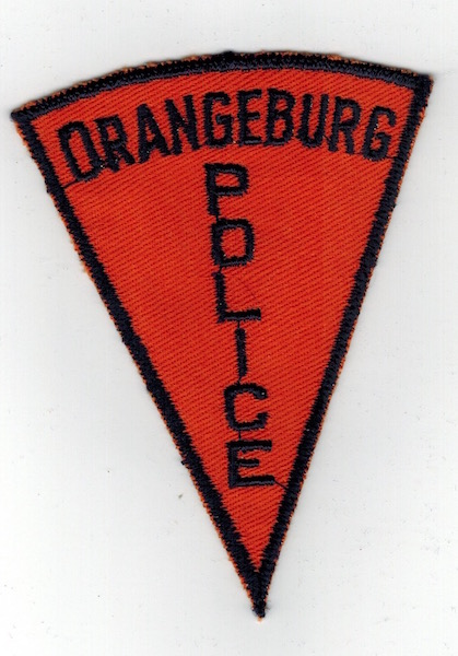 ORANGEBURG POLICE PIE SHAPE