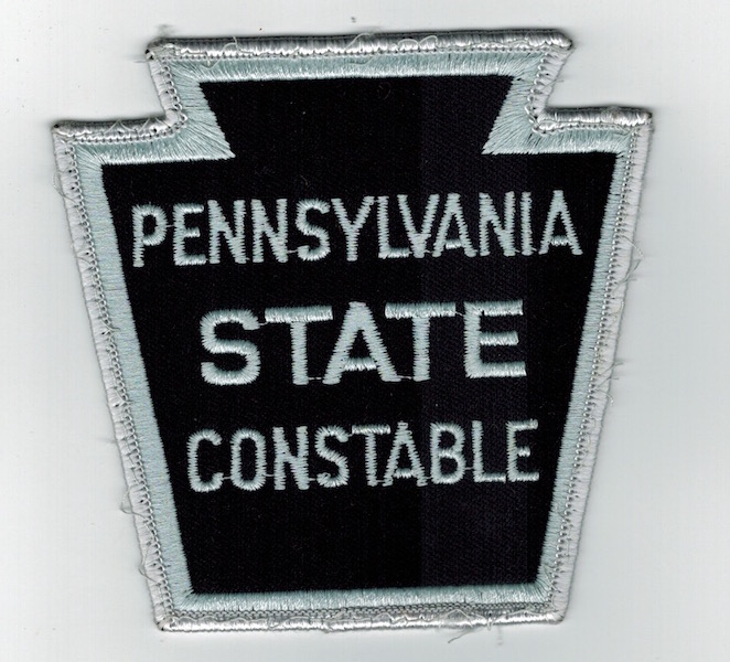 PENNSYLVANIA STATE CONSTABLE KEY STONE - Click Image to Close