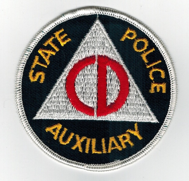 STATE POLICE AUXILIARY CD