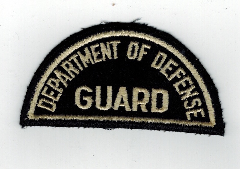 DOD DEPARTMENT OF DEFENSE GUARD FELT (16)