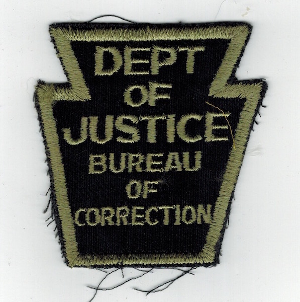 DEPT. OF JUSTICE BUREAU OF CORRECTION BLACK (16)