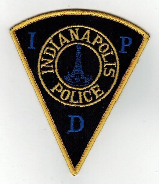 INDIANAPOLIS POLICE PIE SHAPE (19)