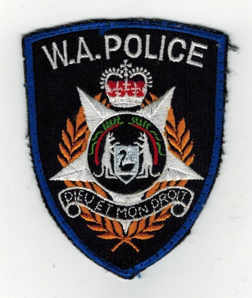 W.A. POLICE USED (21)
