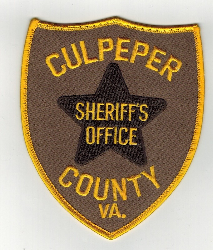 CULPEPER COUNTY SHERIFF'S OFFICE (25)