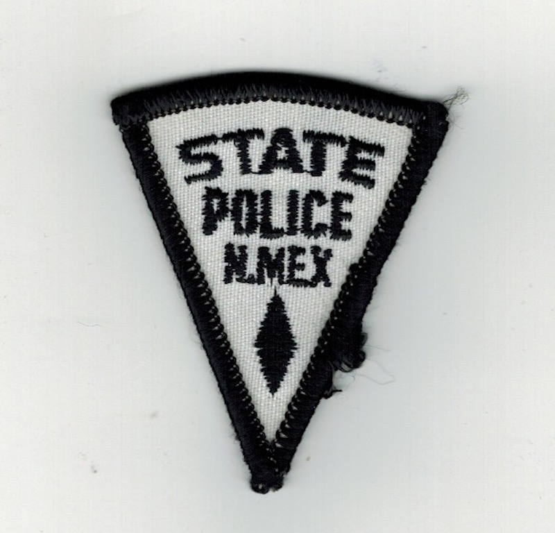 N.MEX STATE POLICE 2 1/4 INCHES SMALL (25)