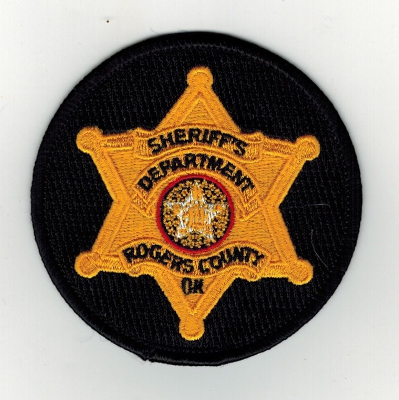 ROGERS COUNTY SHERIFF'S DEPARTMENT ROUND 3 INCHES (25)