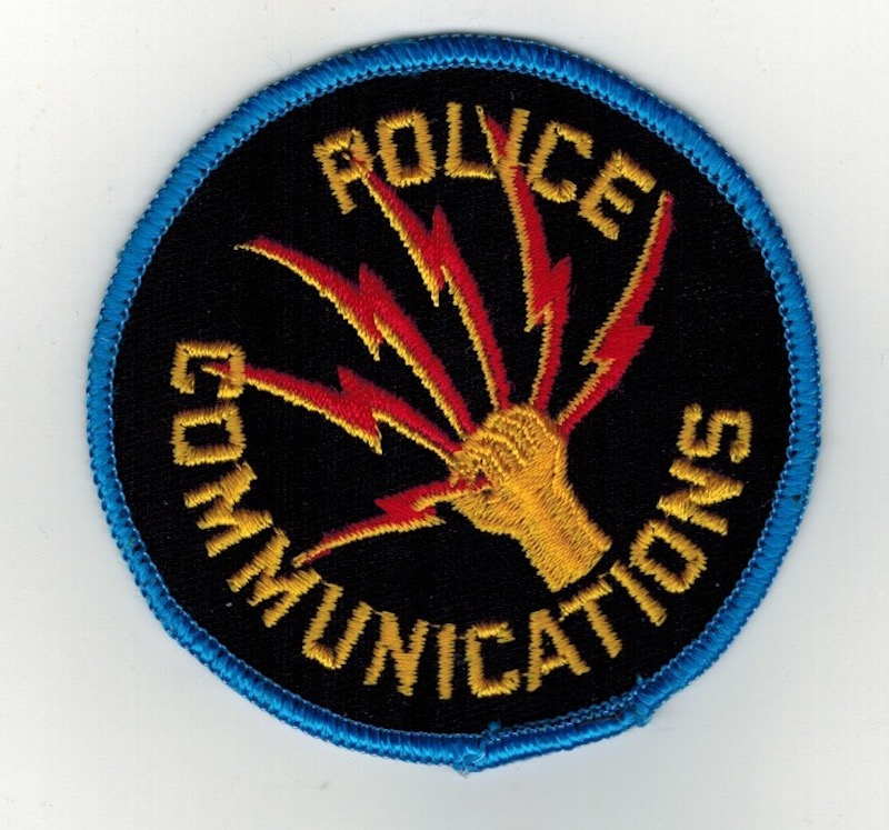 POLICE COMMUNICATIONS 3 INCHES (25)