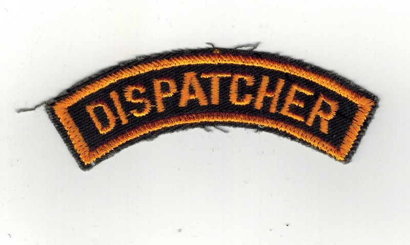 DISPATCHER TAB 3 3/4 INCHES WIDE BROWN(25)
