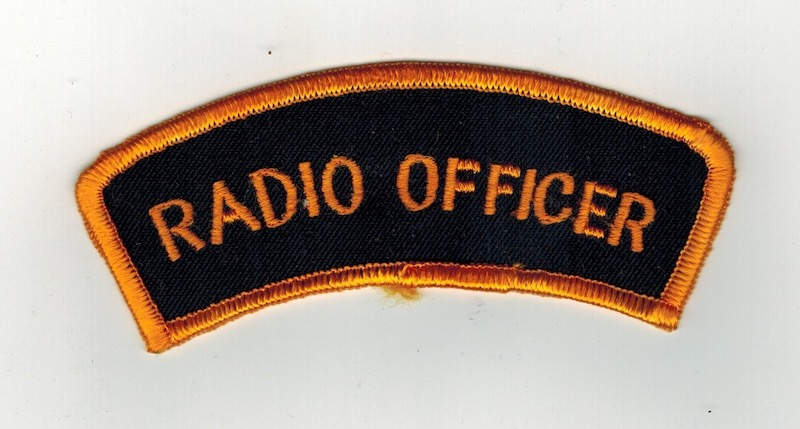 RADIO OFFICER TAB 4 1/2 INCHES WIDE(25)