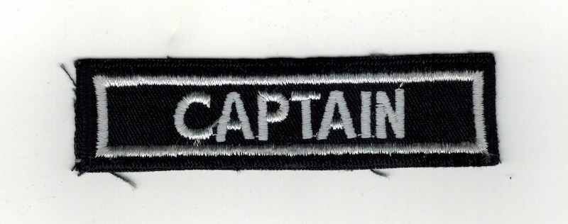 CAPTAIN TAB 3 3/4 (25)
