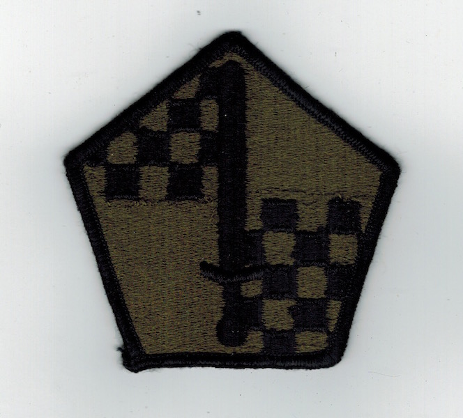 Military Entrance Processing Command Patch